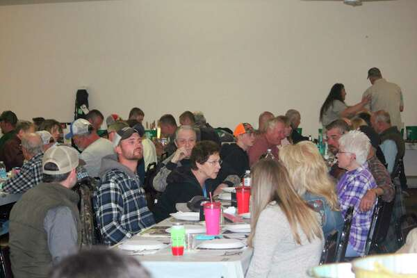 NWTF turkey dinners such as this one in 2019 in Bitely are still on hold in 2021 because of COVID-related issues. (Herald Review file photo)