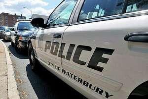 A file photo of a Waterbury, Conn., police cruiser.