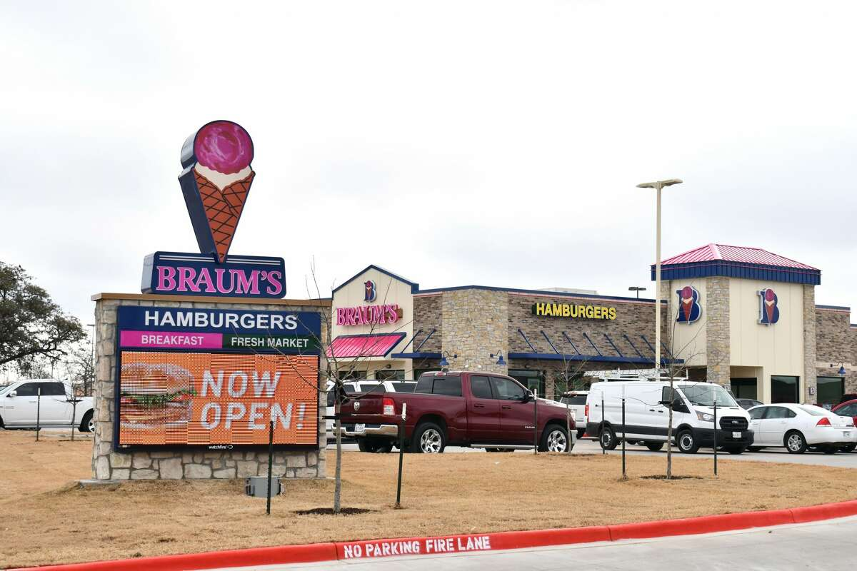 Tuesday marked the grand opening of the new Braum's Ice Cream and Dairy location in Plainview, which is located at 3605 Olton Rd. off of I-27. Store operation hours are 6 a.m. to 10:45 p.m. Breakfast is served until 10:30 a.m. with the menu switching over to lunch and dinner options after that.