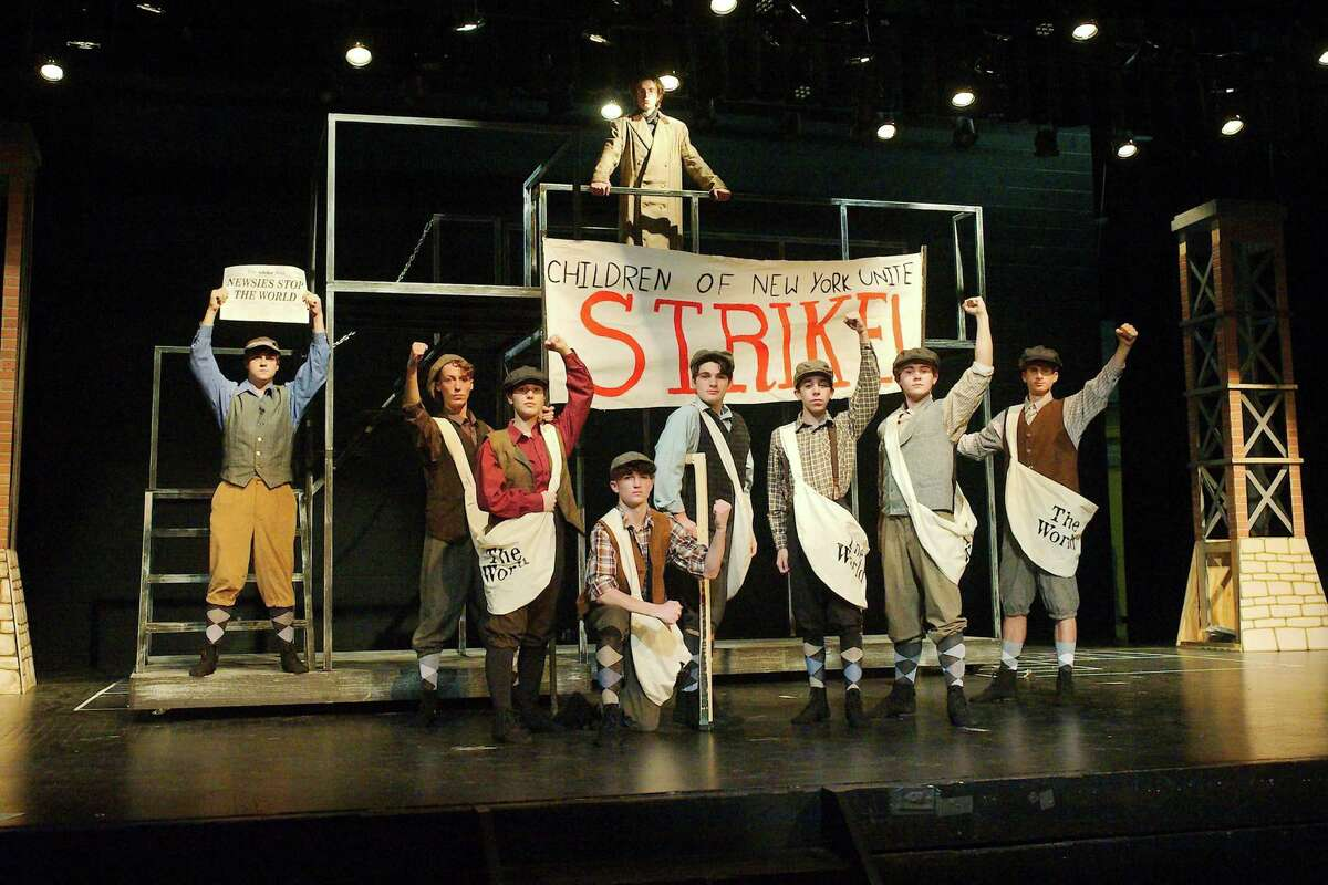 """Disney's """"Newsies, The Musical"""" will be performed seven times beginning Jan. 29 at Friendswood High School."""