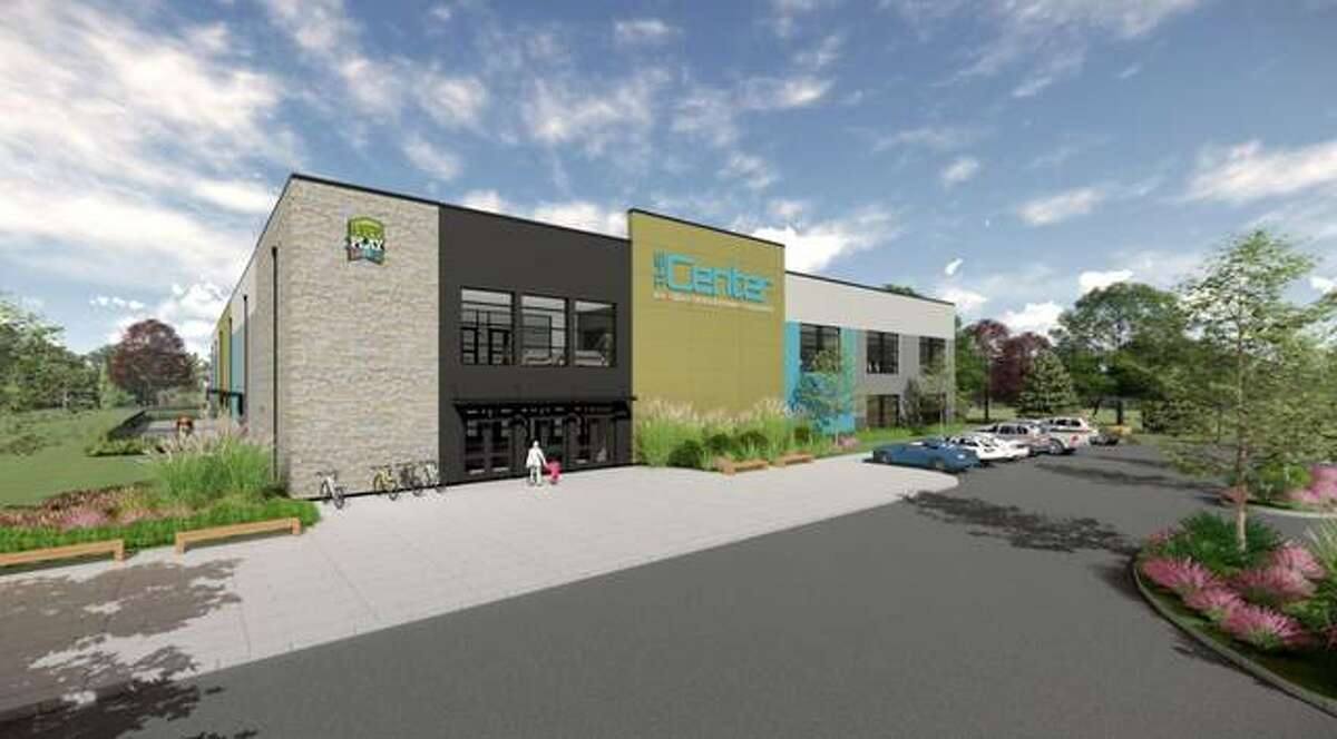 The proposed ice rink, teen center, track and recreational facility called TheCENTER planned in Edwardsville has received naming rights sponsorships from The Korte Company and Contegra Construction Company.