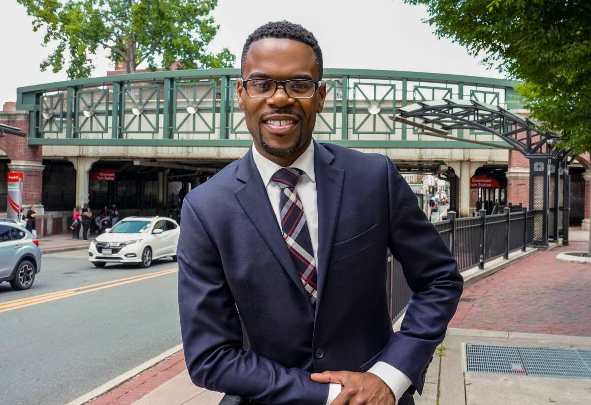 Omar Sterling McGill announced his candidacy for Schenectady County Legislature District 1 on Wednesday, Jan. 27, 2021.