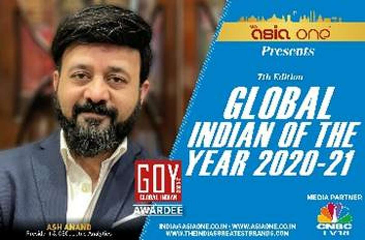 Ash Anand of Warrensburgh has been named Global Indian of the Year by Asia One, a Singapore-based news site. (Photo provided by Lotus Group)