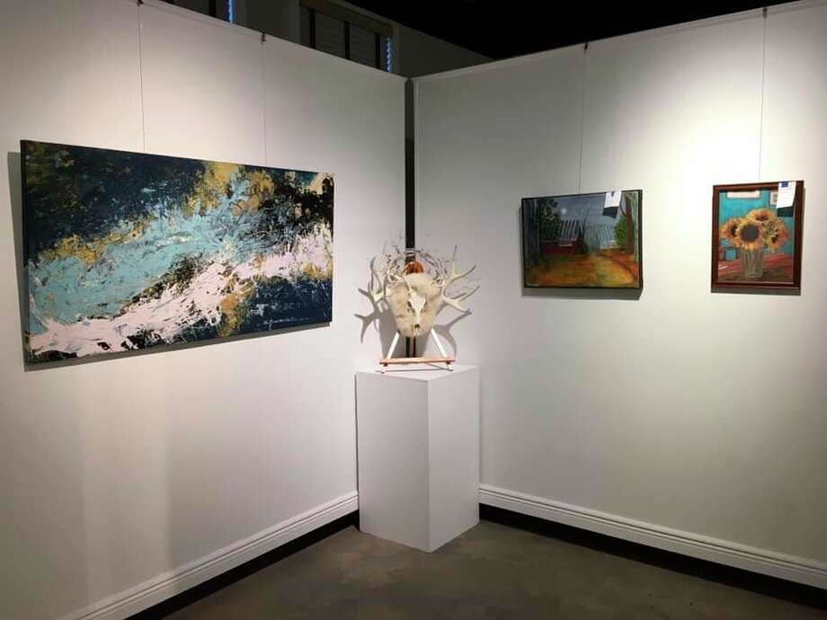 The Ludington Area Center for the Arts exhibit titled New Beginnings, comes to an end Friday with a closing reception atthe art center's newly renovated gallery. (Courtesy photo)