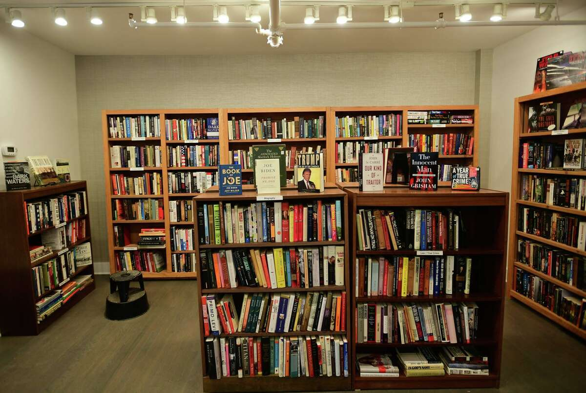 The Westport Book Shop, the first used book shop in town Tuesday, January 26, 2021, in Westport, Conn.