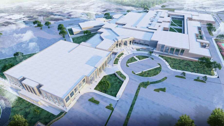 The 2019 Conroe ISD bond package included a sizeable improvement project for Conroe High School to connect the scattered buildings. The project will last around 54 months because it will have to be done while students are still in school. Photo: Provided