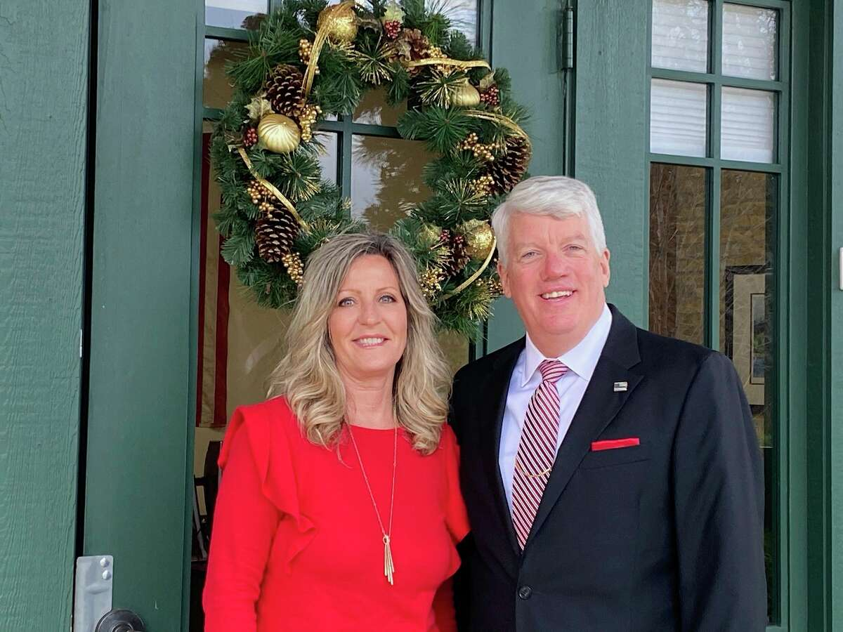 Irma Kaminski and Brian Postma are the two Edward Jones employees in the60 Division St. office inManistee. (Courtesy photo)