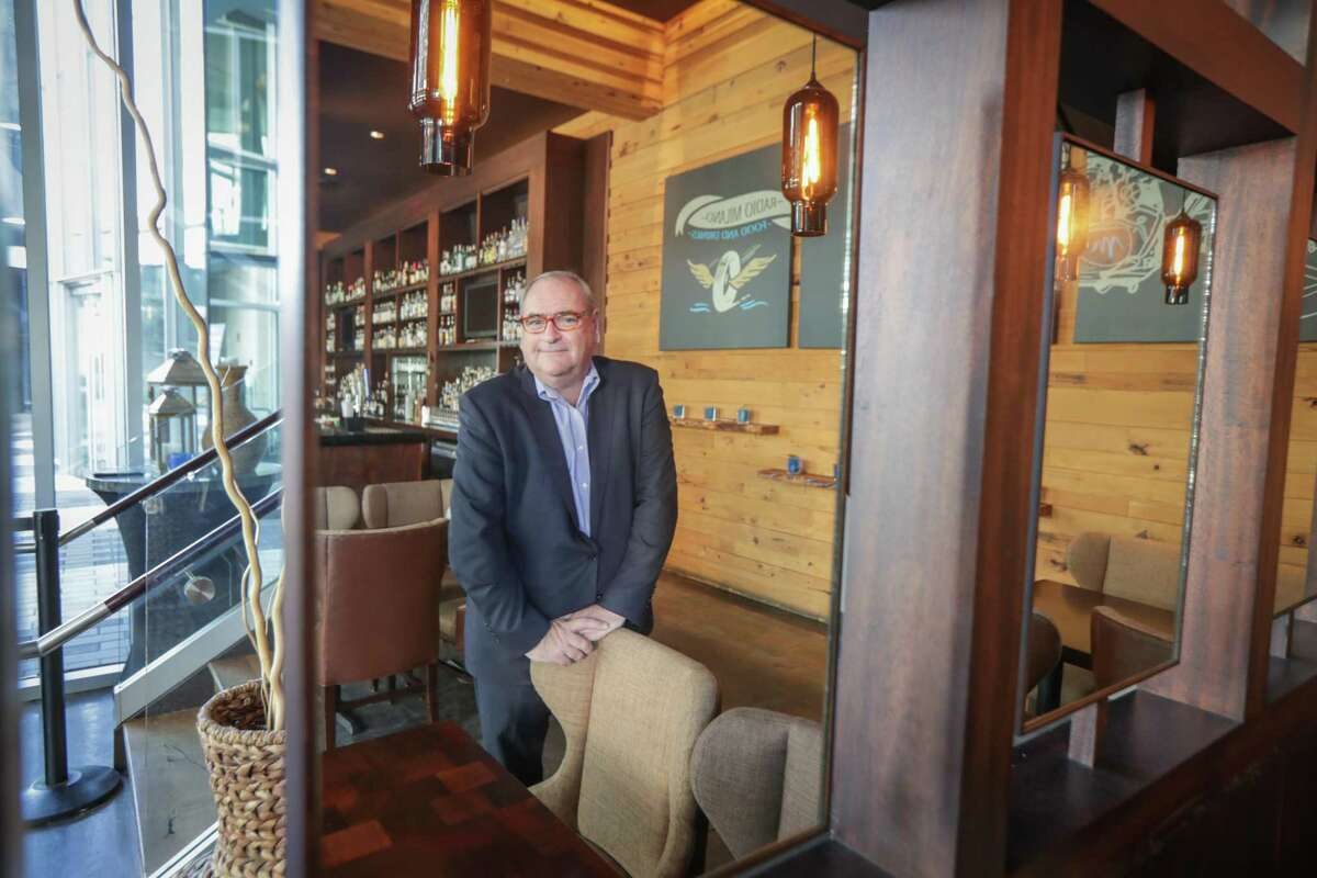 Jerome Strack, general manager of The Moran CityCentre poses in the bar area of Radio Milano eatery and bar Friday, Jan. 15, 2021, in Houston.