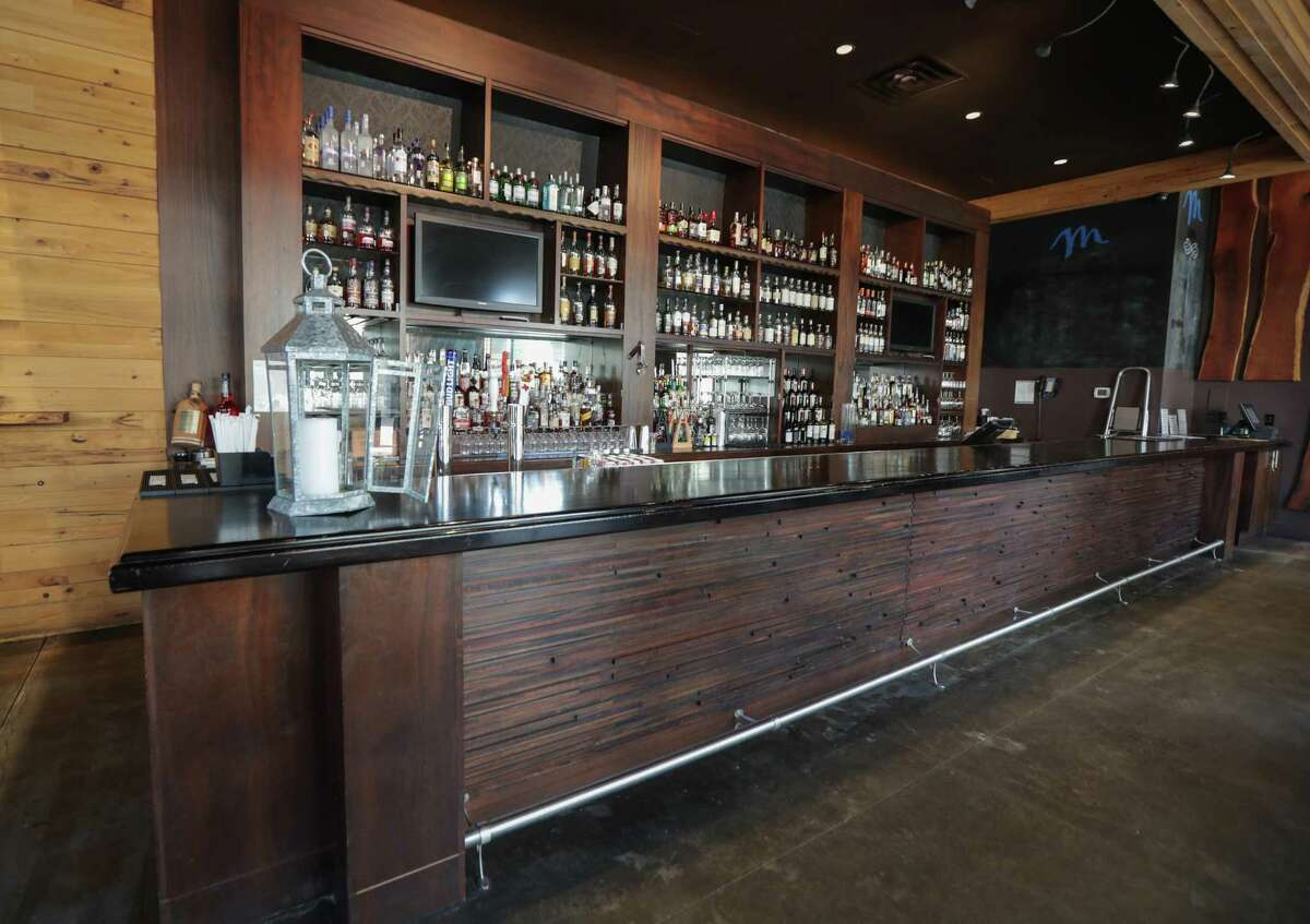 The bar area of Radio Milano eatery and bar in The Moran CityCentre, a 266-room hotel managed by HEI Hotels & Resorts Friday, Jan. 15, 2021, in Houston.