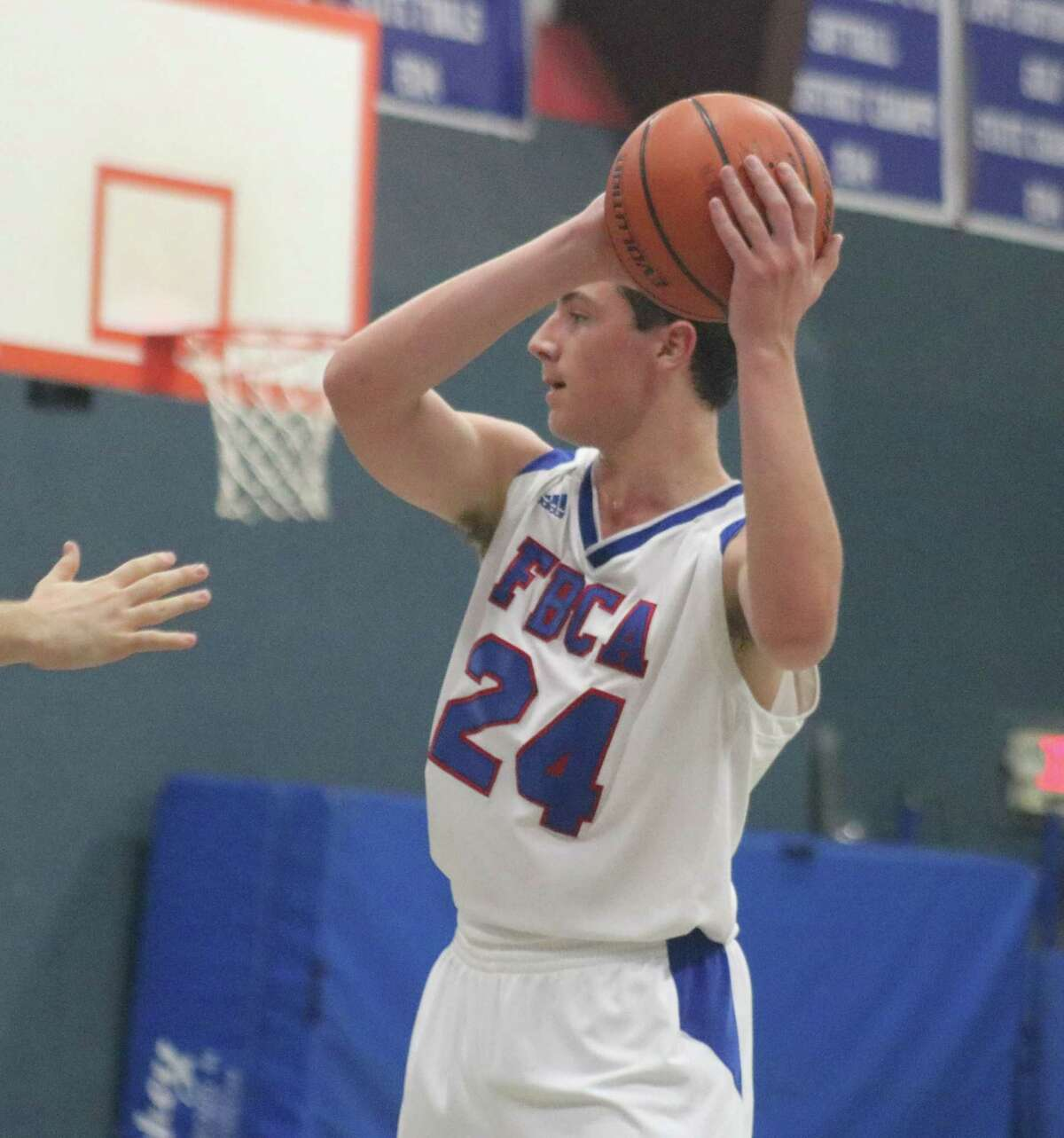 The Warriors were without the services of their leading rebounder in Josiah Fogg Tuesday night. The team could have used him to possibly slow down Logos Prep's Terrance Palmer, who scored 13 fourth-period points.