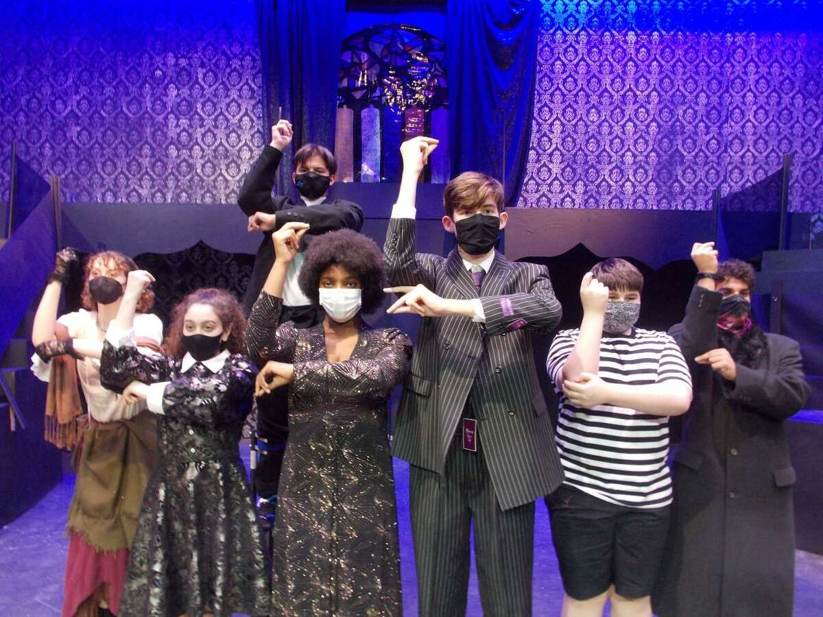 """The students of Taylor High School are staging a production of """"The Addams Family: School Edition"""" Jan. 28-30."""