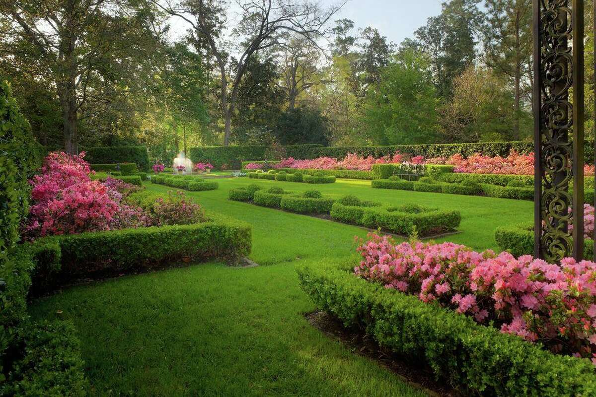 Bayou Bend, with its 14 acre-garden awash in spring blossoms, is always a popular stop along the Azalea Trail Home and Garden Tour.