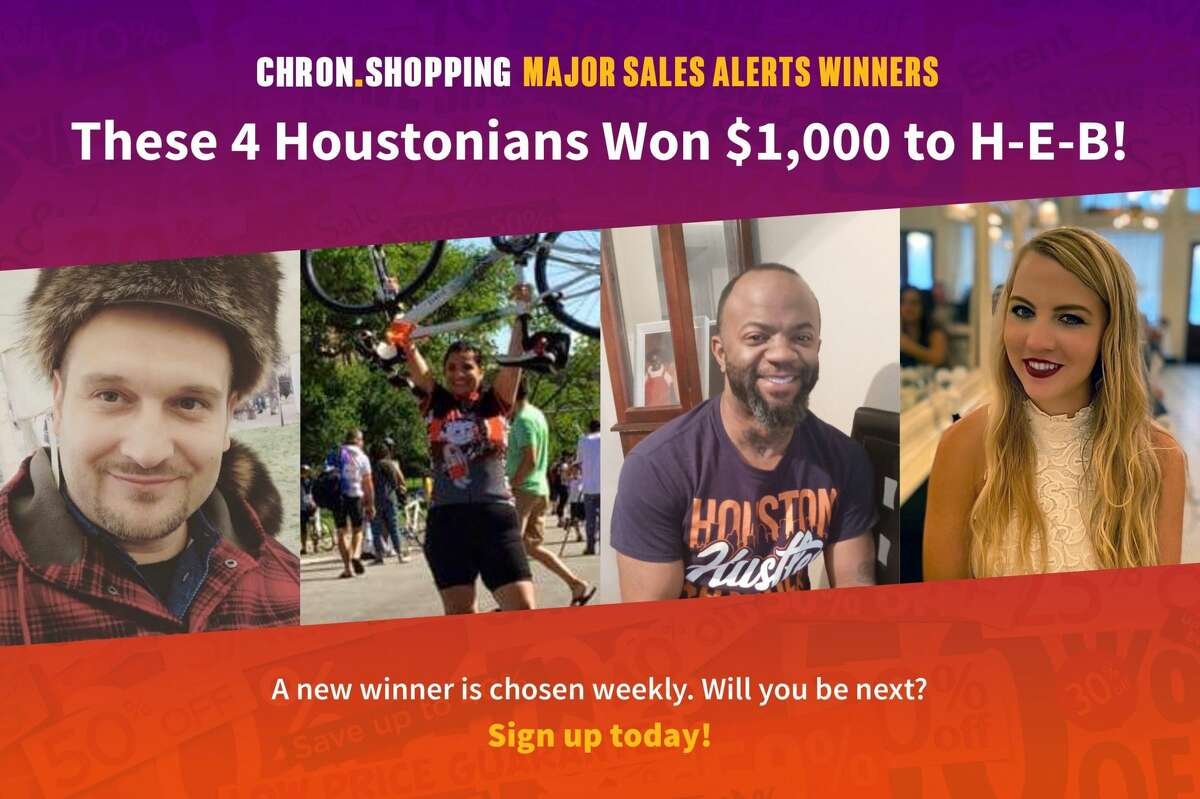 It's not too late for you to join these four Houstonians in winning $1,000 to spend at H-E-B!