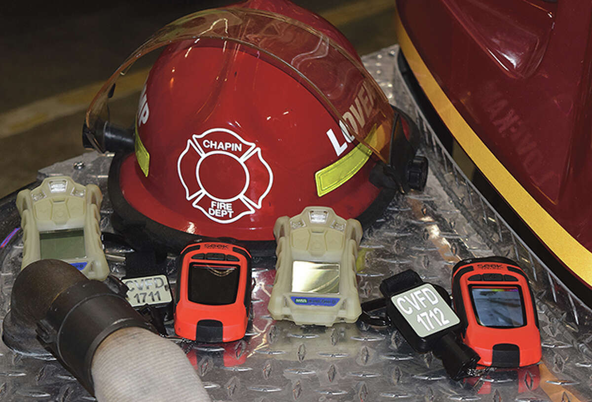 FILE - Gas meters and thermal-imaging cameras are among items Chapin Volunteer Fire Department was able to buy because of its fundraising efforts.