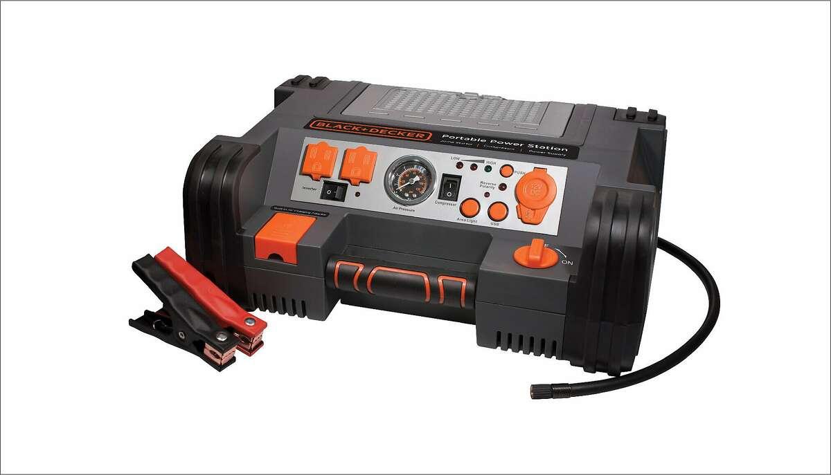 Black & Decker Portable Power Station Jump Starter PPRH5B Cnet reviews.