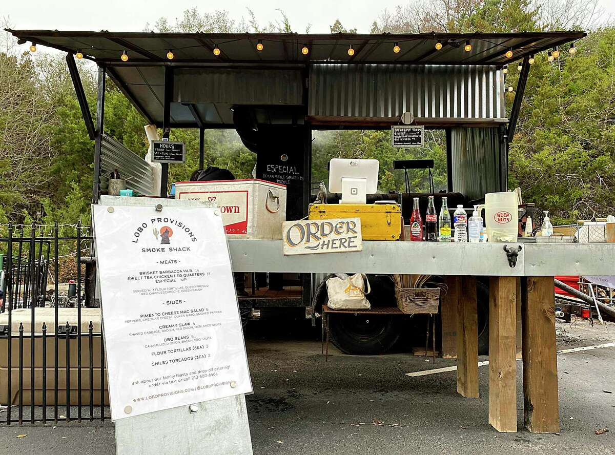 Lobo Provisions Smoke Shack is a food trailer from chef Quinten Frye on West Borgfeld Road near Bulverde.