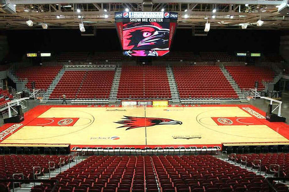 The Show Me Center in Cape Girardeau will play host to the SIUE women's and men's basketball teams Thursday night when each takes on Southeast Missouri State. Photo: SEMO Athletics