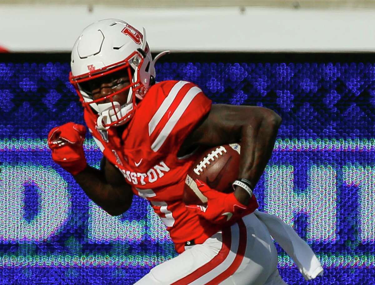 Wide receiver Marquez Stevenson totaled 22 touchdown catches in his UH career.