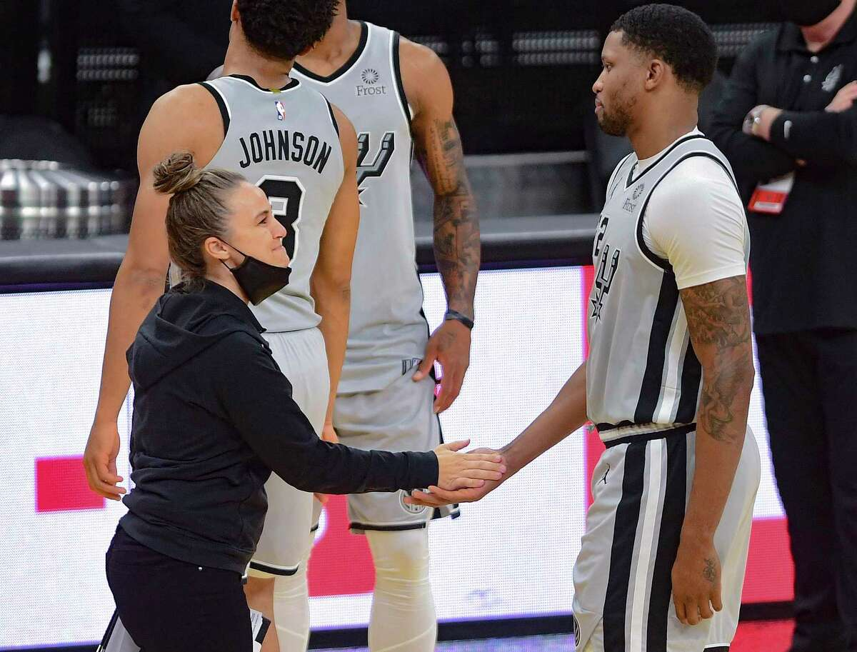 Spurs fans got another teaser of Becky Hammon's upcoming NBC interview, but this preview just solidified what many already knew: She's ready to be an NBA head coach.