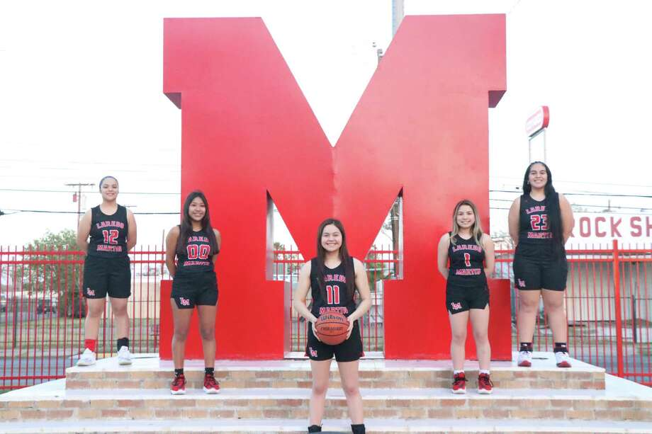Jari Garcia, Maisy Perez, Daina Garcia, Nallely Cortez and Brianna Palacios have led Martin to a 3-3 start in District 30-5A putting the Lady Tigers in third place. Photo: Courtesy