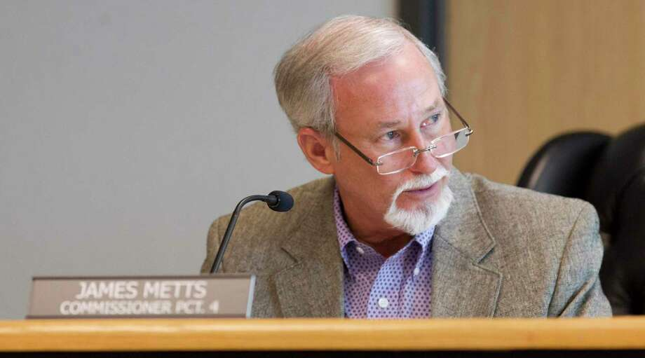 After initial concerns about how to fund a new court at law, Montgomery County Precinct 2 Commissioner James Metts and other commissioners revisited the issue Tuesday and approved of one new court to be funded in 2023. Photo: Jason Fochtman, Houston Chronicle / Staff Photographer / © 2018 Houston Chronicle