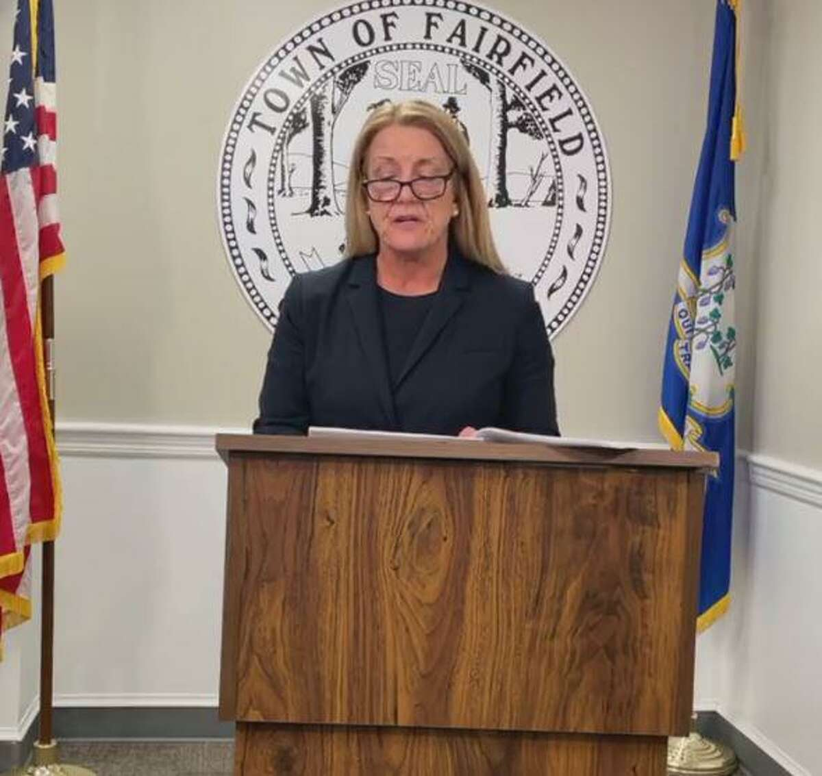 In a Monday speech, First Selectwoman Brenda Kupchick spoke to both the challenges and the successes Fairfield had last year.