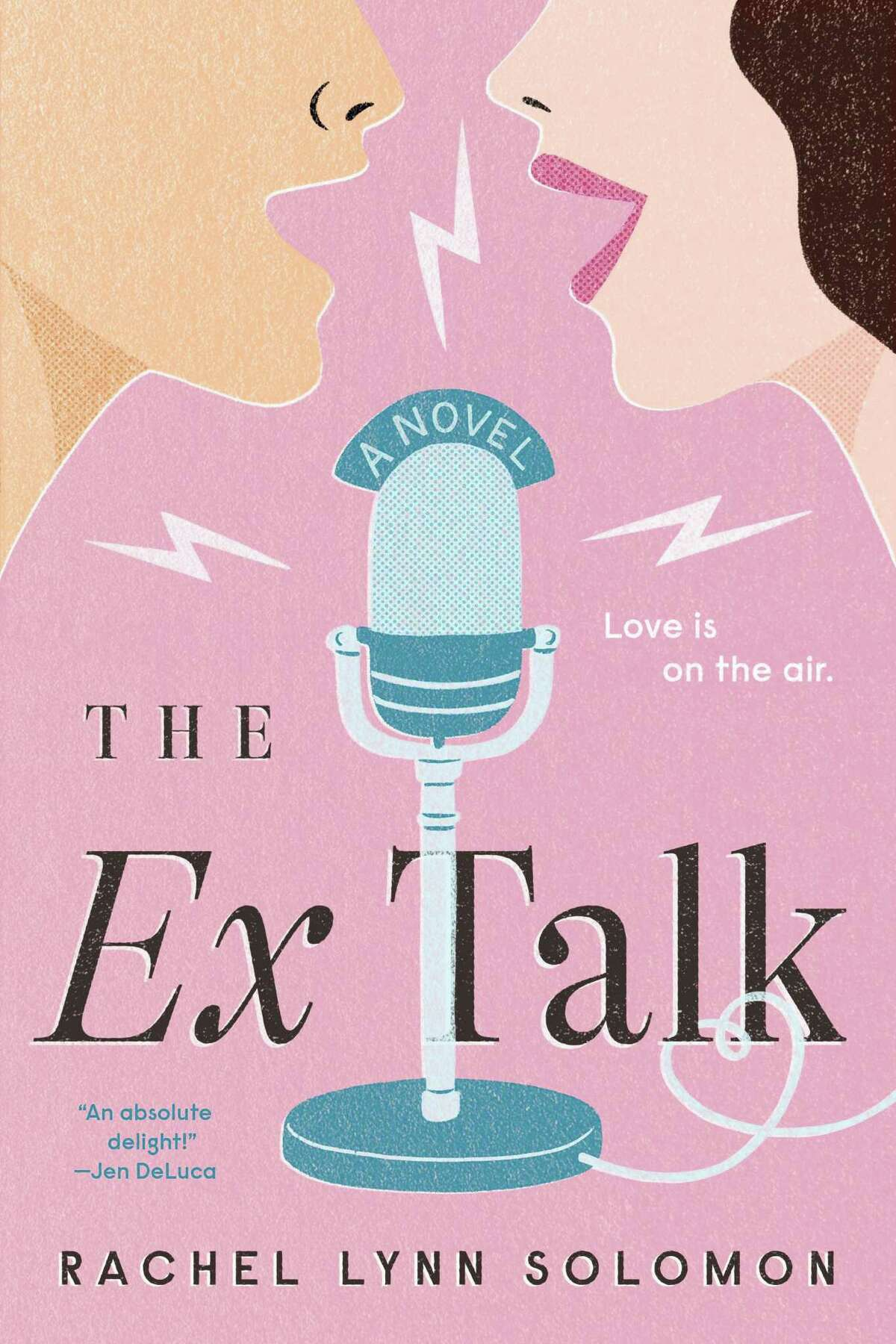 """""""The Ex Talk"""" by Rachel Lynn Soloman. 'The Ex Talk' by Rachel Lynn Soloman Who doesn't love an enemies to lovers story? When two combatant colleagues co-host a radio show called The Ex Talk, pretending to be a former couple, it isn't too difficult considering how they loathe each other. The problem is that as the show becomes more popular, the hosts find themselves falling for one another, which could have a drastic impact on their careers. The book was published on Jan. 26 by Penguin Randomhouse."""
