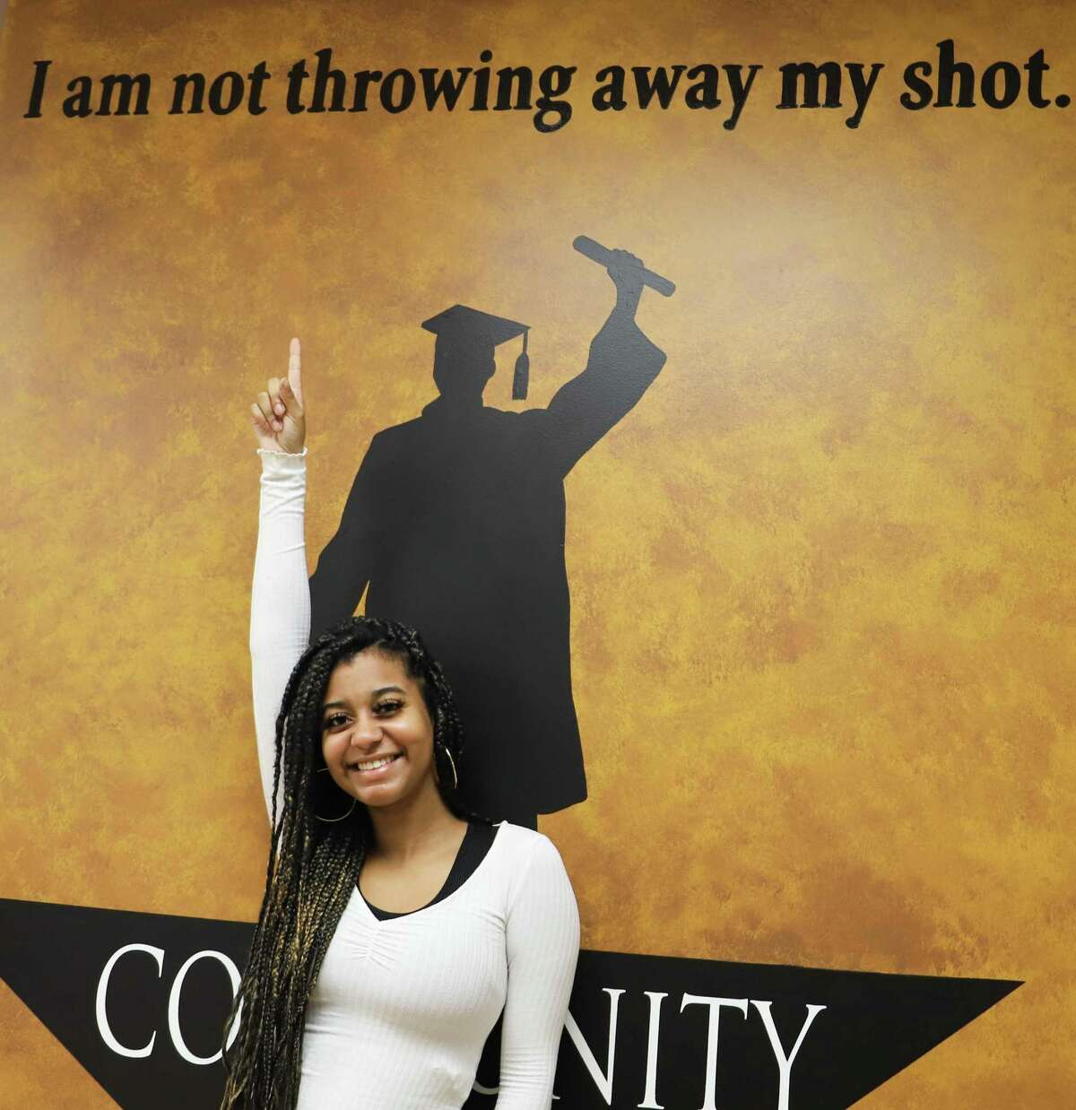 Last August, Shantel McNeal was close to dropping out of high school. The 18-year-old Pasadena ISD student achieved her diploma in November through Community School, an alternative campus in the district.