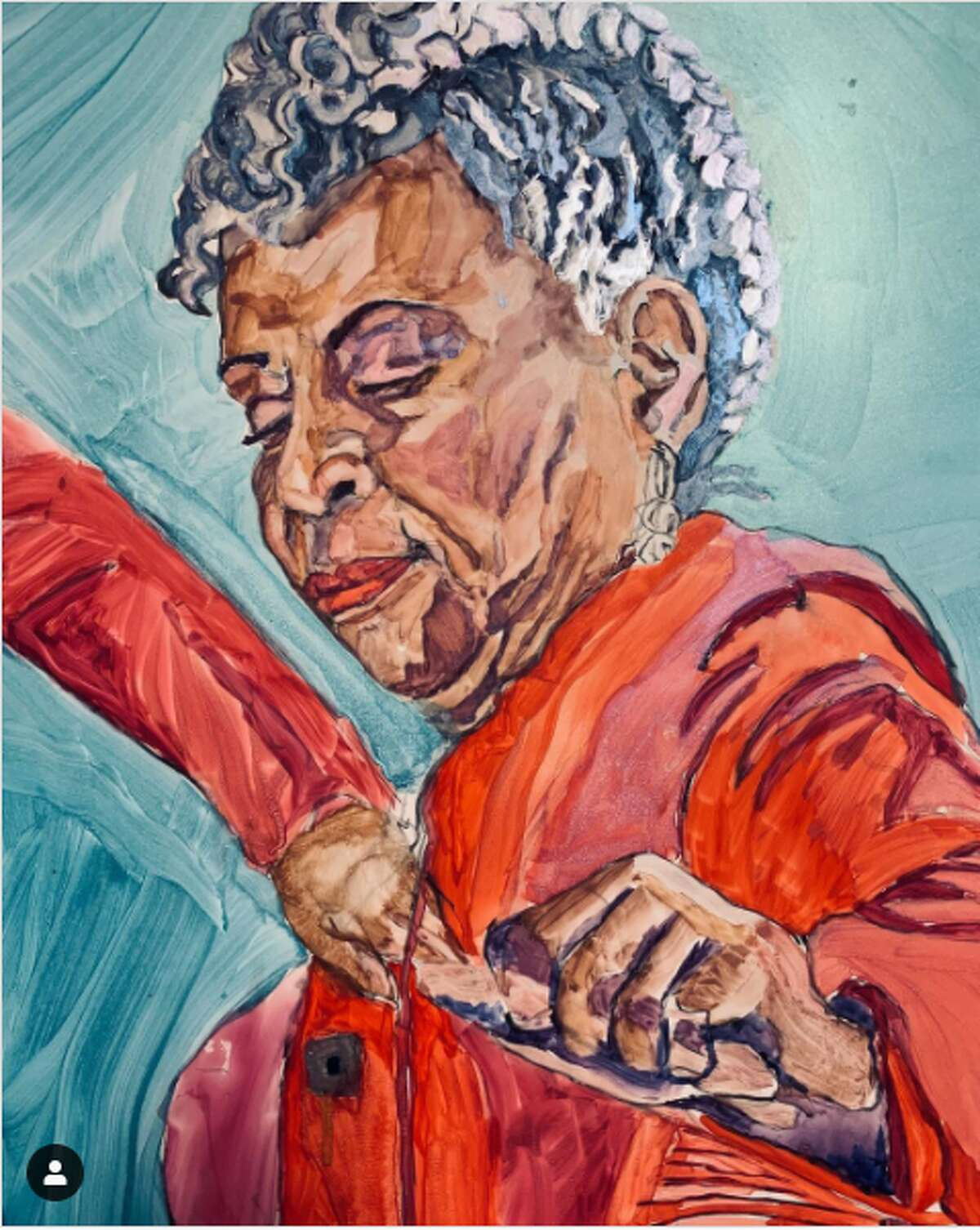 BARBARA FELIX @proximityartmedia From experimental art to exhibition-worthy pieces, Barbara Felix lets her followers see a wide array of her contemporary creativity come to life. The Afro-Latinx artist focuses on sensuality, gender, and relationships in her paintings.