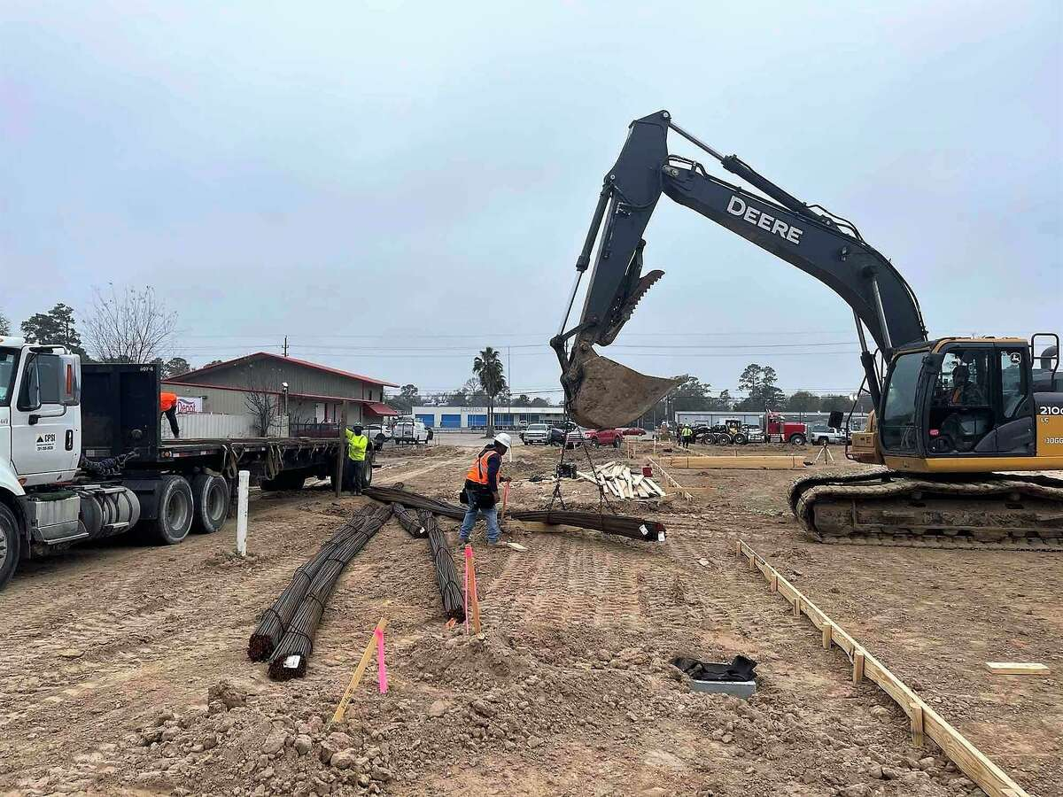 Construction is underway on the new Cypress Assistance Ministries building.