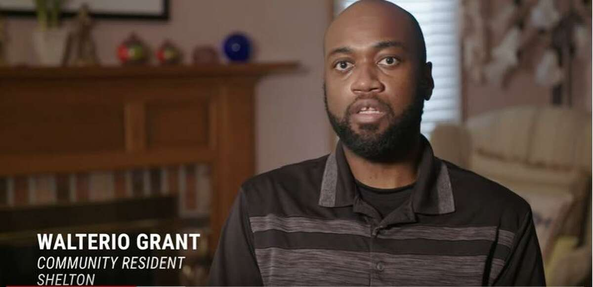 Walterio Grant of Shelton was one of those interviewed for a documentary -- co-produced by Data Haven and Purple States -- about health inequality in the Lower Naugatuck Valley.