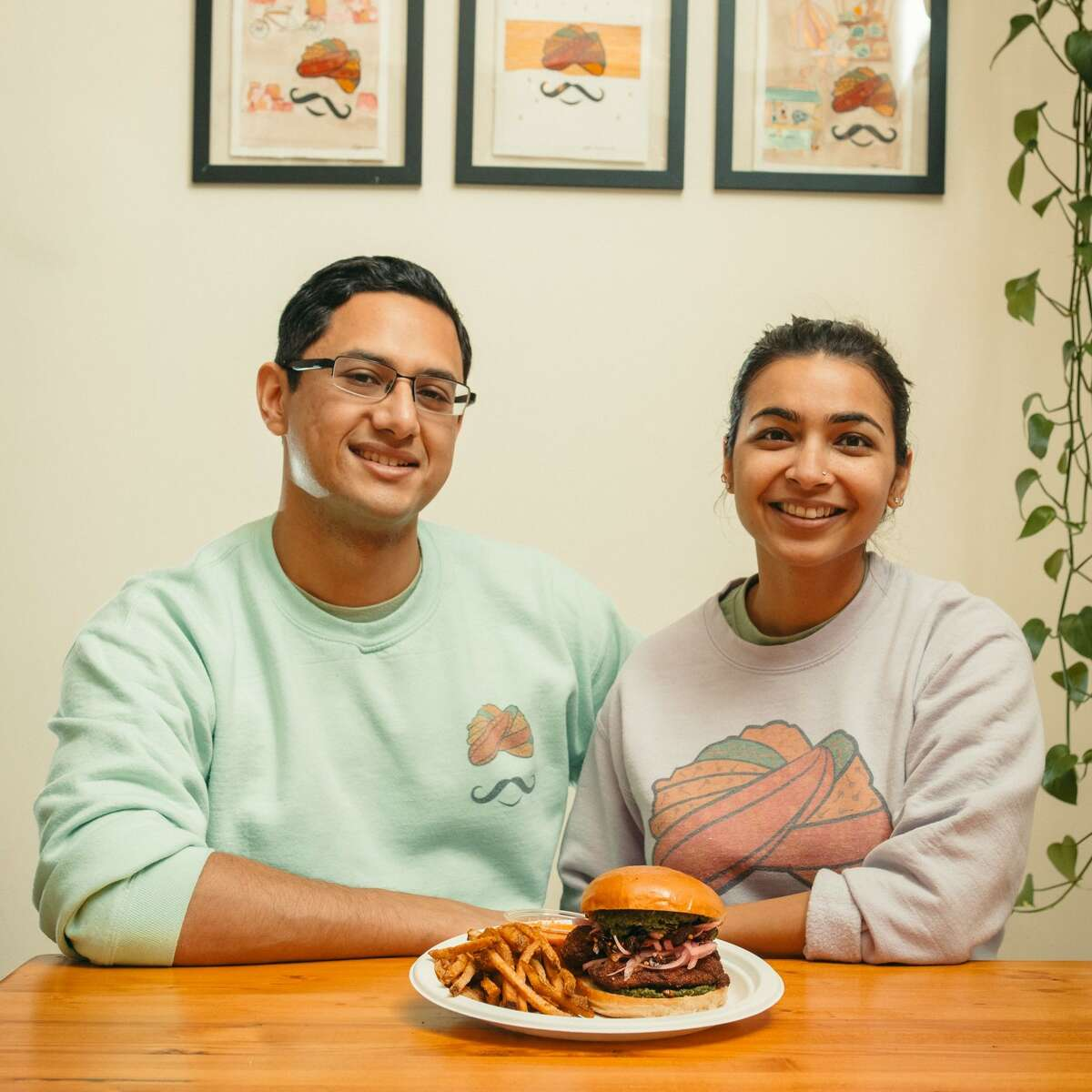 Gully Sandwich from Aakanksha Sinha and Uttam Mukherjee of Spice Waala