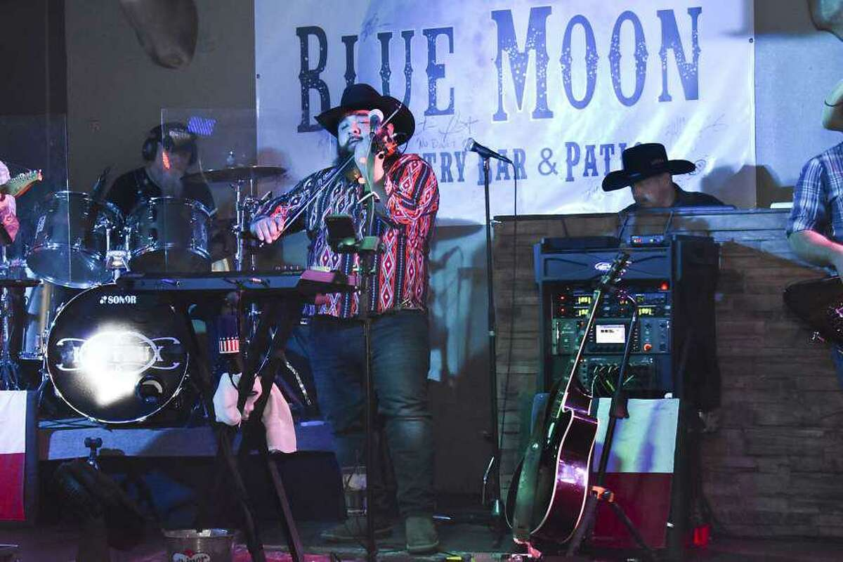 In this file photo, the Kin Faux Band performs at Blue Moon.
