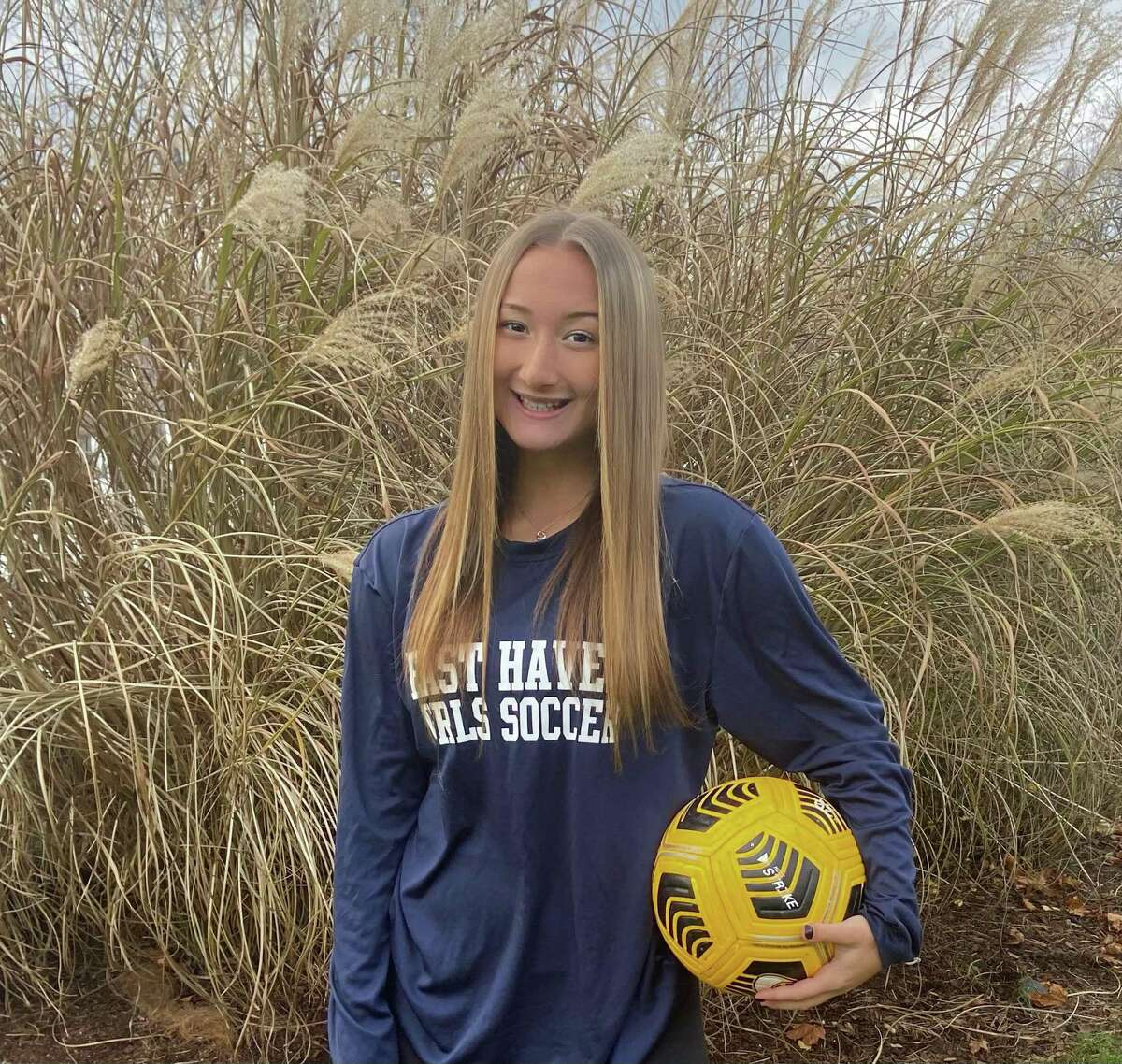 East Haven's Bella Pilato finished her career with 23 goals and 34 assists.