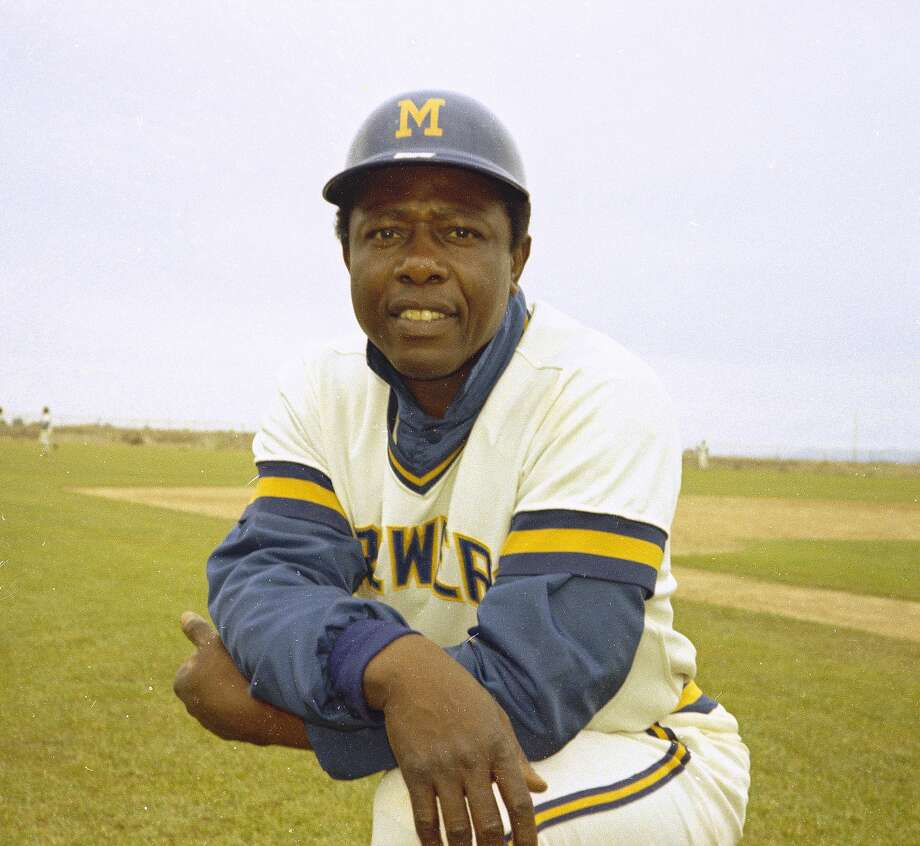 Milwaukee Brewers' outfielder Hank Aaron is seen in 1975. (AP Photo) Photo: Anonymous/ASSOCIATED PRESS / AP1975
