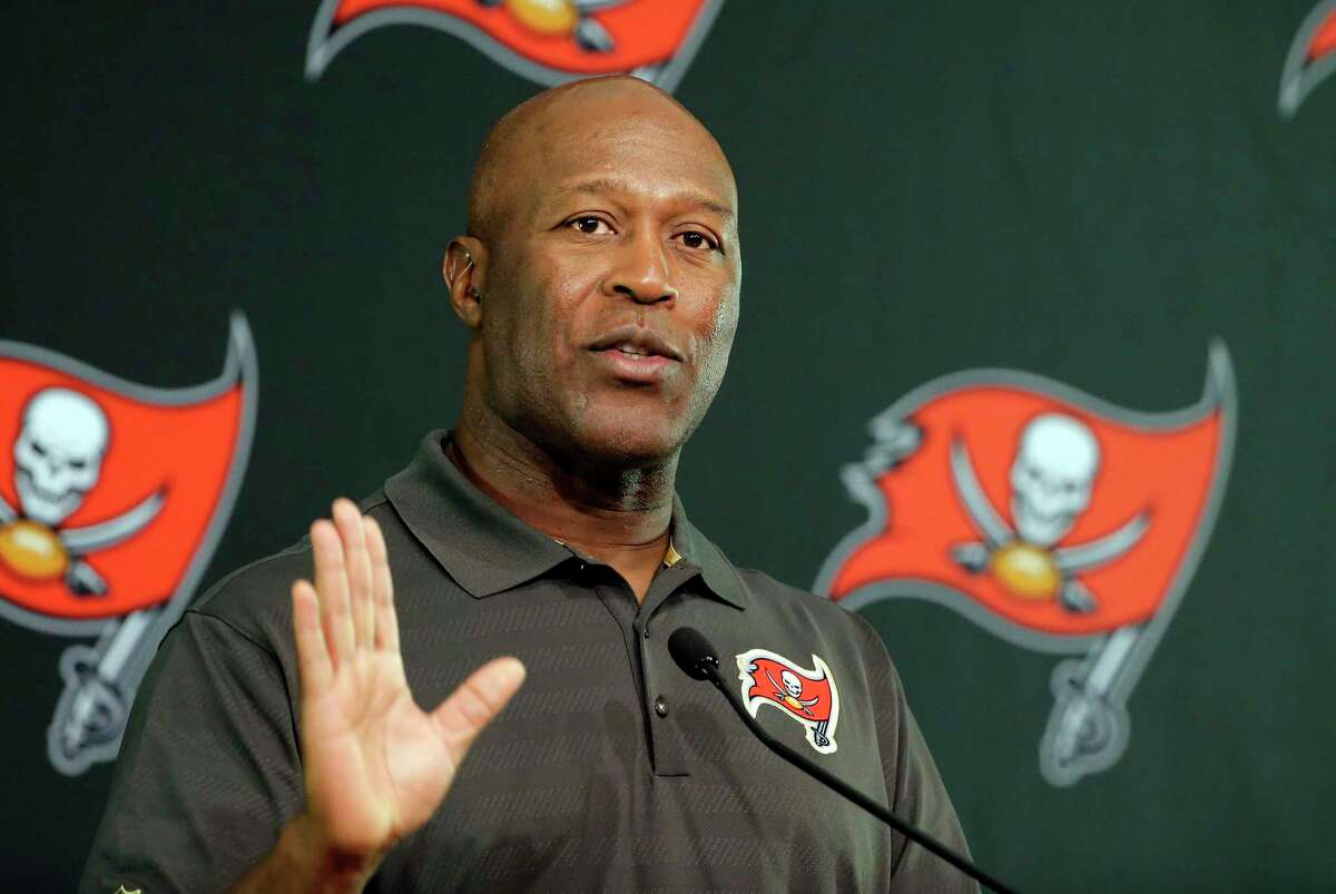 Lovie Smith, a former Tampa Bay head coach, is likely headed to the Texans as defensive coodinator.
