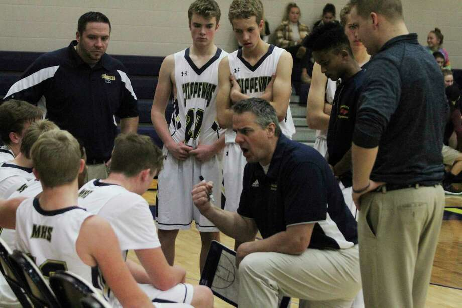 Basketball coaches have been challenged to conduct practice with noncontact activities, as well as keeping morale up among players through multiple delays this season. (News Advocate file photo)