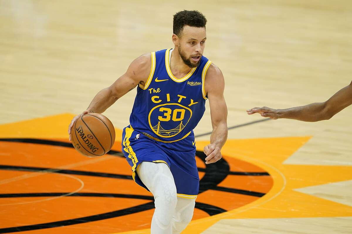 Stephen Curry put up 27 points in Phoenix, where Golden State never bounced back after falling behind 14-0.