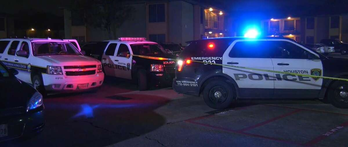 Houston police investigated a homicide Thursday night at an apartment complex on the 10900 block of Gulf Freeway in southeast Houston, officials said.