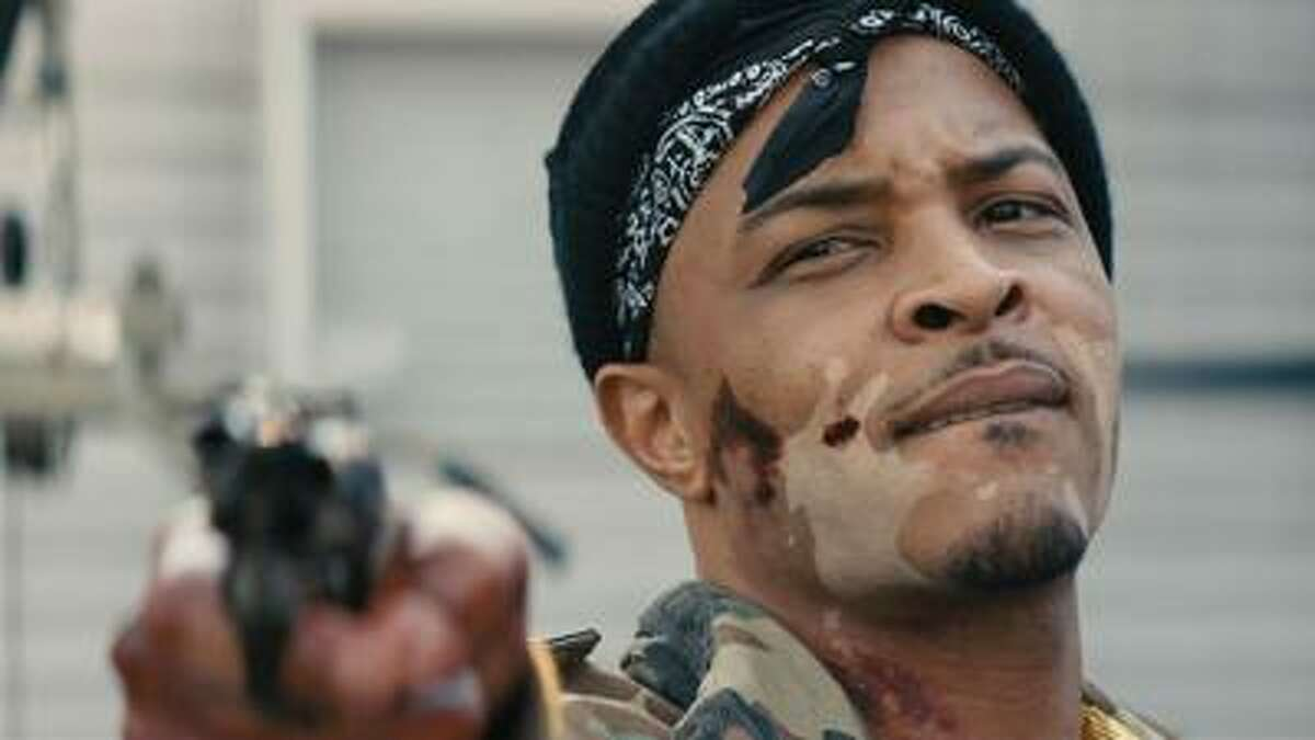 Rapper T.I. plays a gangster in