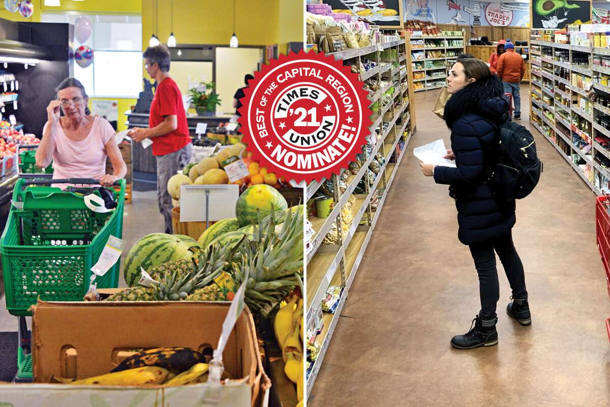 The battle between Best of 2020 winner Trader Joe's and local favorite Honest Weight Food Co-op will be one to watch in the Best of 2021 readers' survey.