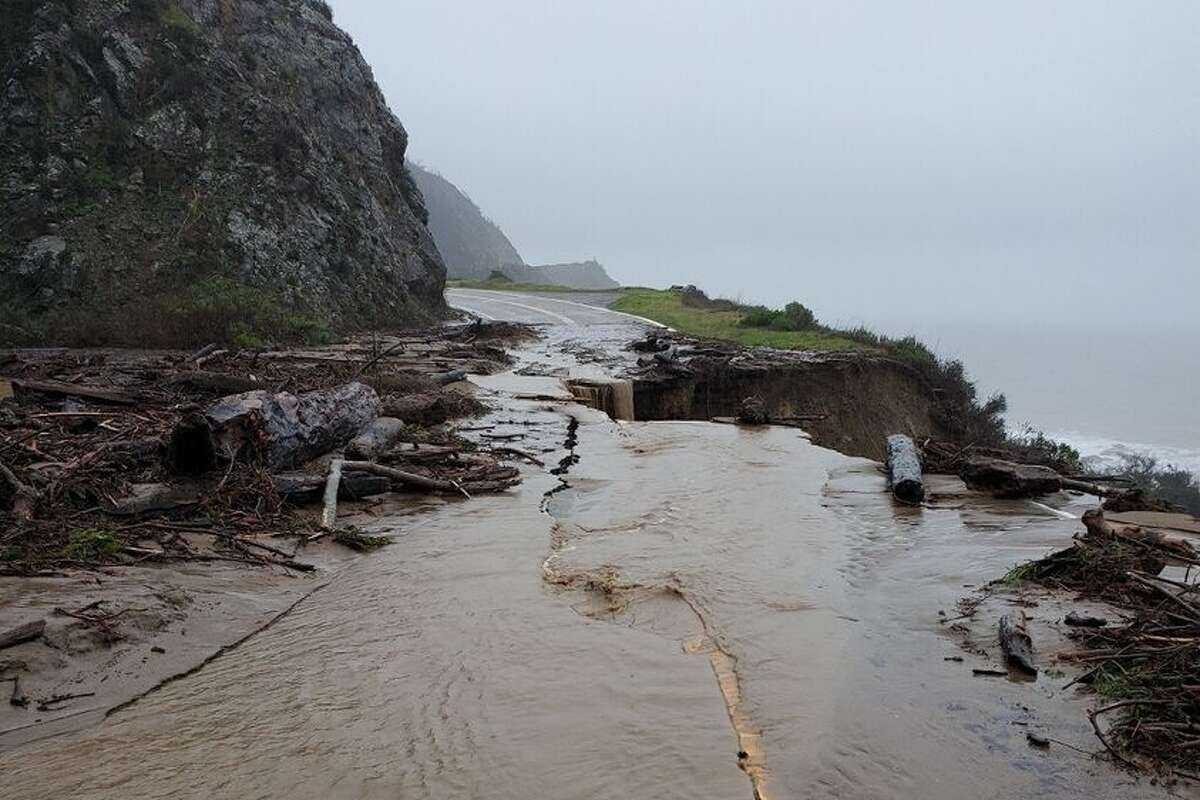 Highway 1 between MPM 40 and the San Luis Obispo county line is closed due to inclement weather, debris flow, flooding, and slides, the California Highway Patrol said.