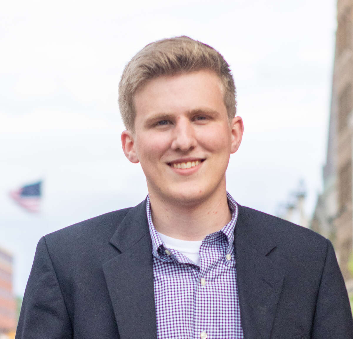 Brendan Savage is a candidate for Schenectady County's District 1.