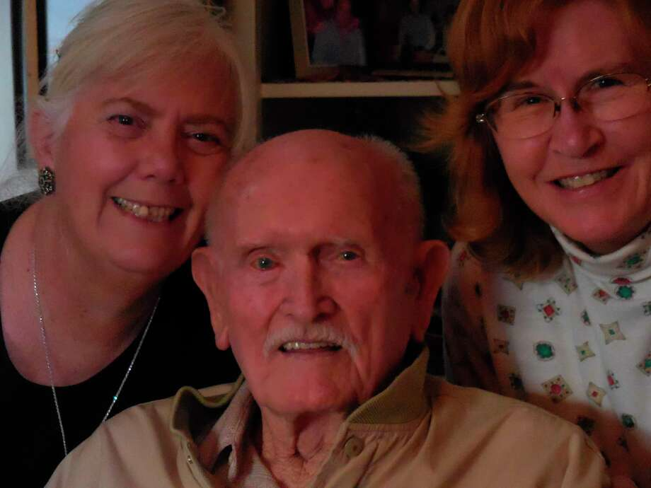 Cheryl Staples, daughter, with Jerry and Susan Solheid, daugh-in-law (Courtesy photo/TNS)