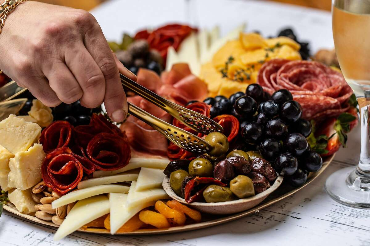 Dina Bshara owns Affinage Boards a charcuterie grazing board company in the Bay Area.