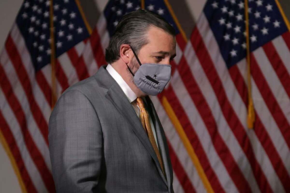 A reader wonder if Texas Sen. Ted Cruz, who amplified the lie of voter fraud, is for liberty or insurrection.