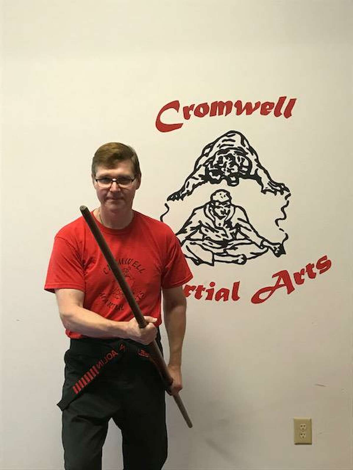 """Sensei Frank Shekosky, owner of Cromwell Martial Arts, has been featured in the book """" The World's Greatest"""" recognizing many of the world's greatest martial artists which is authored by Ted Gambordella."""