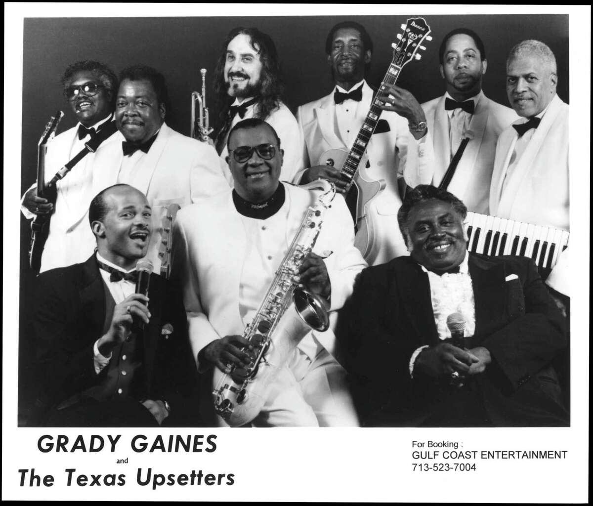 GRADY GAINES AND THE TEXAS UPSETTERS