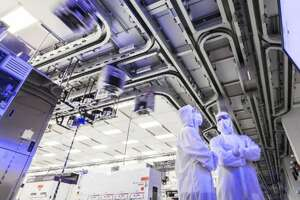 Pandemic-driven demand for computers and smart phones has led to a boom in microchip production at facilities such as Global Foundries' Fab 8 plant in Malta.