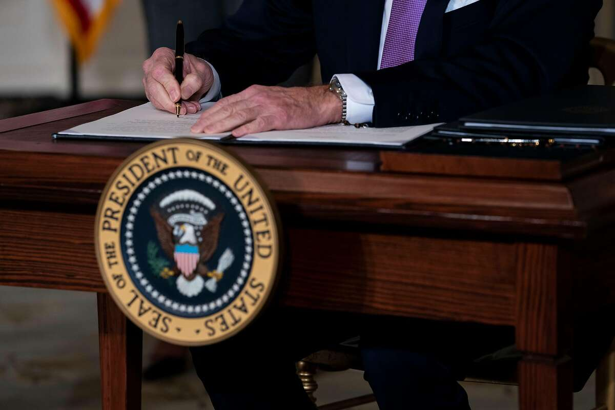 President Biden signs executives orders related to his racial equity agenda.